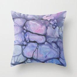 Violaceae Throw Pillow