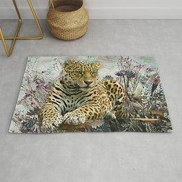 Lingering Leopard Rug