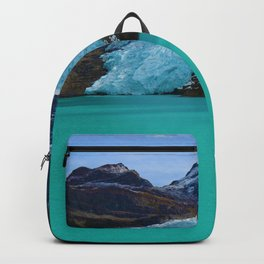 Berg Glacier in Mount Robson Provincial Park BC Backpack