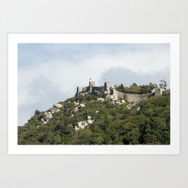 Castle of the Moors Art Print