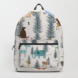 little nature woodland Backpack