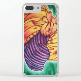 Firedance Clear iPhone Case