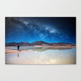Piedras Rojas, Atacama Canvas Print
