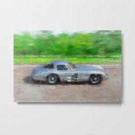 300 SLR Uhlenhaut Coupe Metal Print