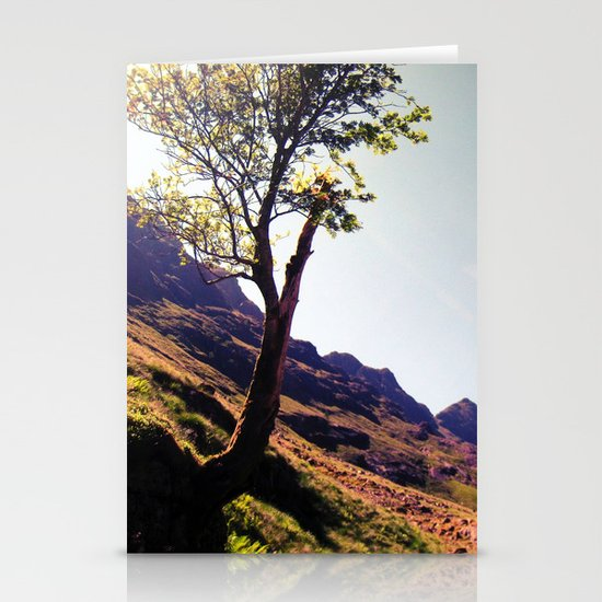 tree side. Stationery Cards