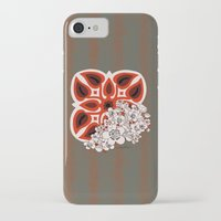mid century modern iPhone & iPod Cases featuring Mid Century Hawaiian by Vikki Salmela