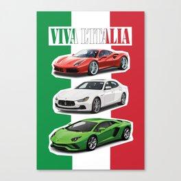 Viva L'Italia Canvas Print