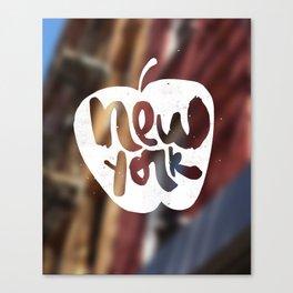 New York: The Big Apple Canvas Print