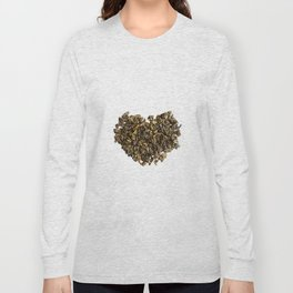 Dried and curled leaves of Oolong Long Sleeve T-shirt