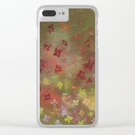 Spray of Spring Clear iPhone Case