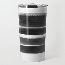 Stripes - No Comment #1 #minimal #painting #decor #art #society6 Travel Mug