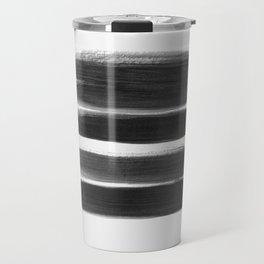 Stripes - No Comment #1 #minimal #painting #decor #art #society6 Travel Mug