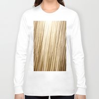 gold glitter Long Sleeve T-shirts featuring Gold Glitter 0875 by Cecilie Karoline