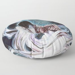 Body and Soul:  The Kiss Floor Pillow
