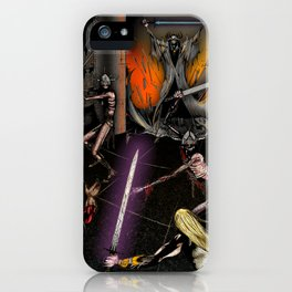 In the Chamber of the Mage-King iPhone Case