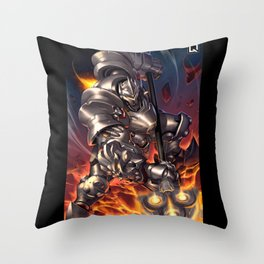 reinhardt Throw Pillow