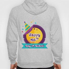 Happy 100 Days Of School Hoody