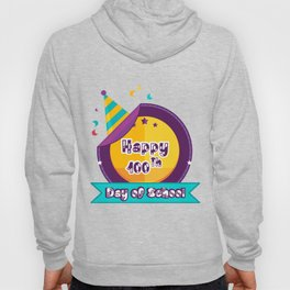 Happy 100 Days Of School Hoody