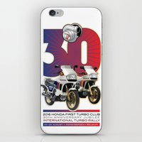 honda iPhone & iPod Skins featuring Honda First Turbo Club by Saddle Bums