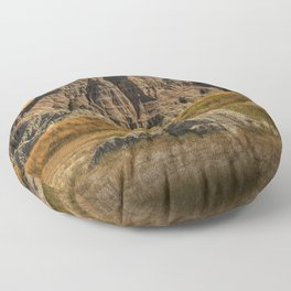 Badlands National Park Floor Pillow