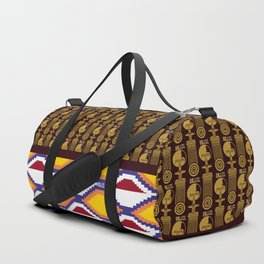 OBJ.CL Pattern Hybrid Duffle Bag