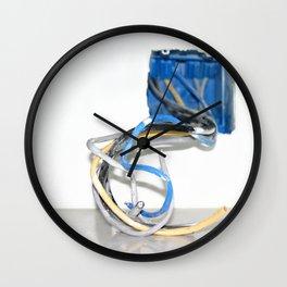 Wire Box Wall Clock