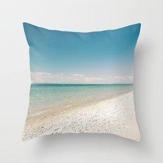 Seaside Manitou Island Throw Pillow