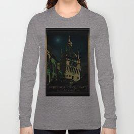 #SighisoaraClockTower III Long Sleeve T-shirt