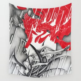 Sacrifice - Trigun Wall Tapestry