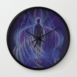 Dream Night Angel Wall Clock