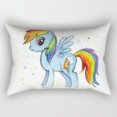 Rainbow Dash MLP Pony Rectangular Pillow