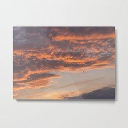 Epic Clouds at Sunset Metal Print