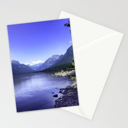 McDonald Lake In Glacier National Park Stationery Cards