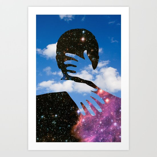 Sky Kiss Art Print