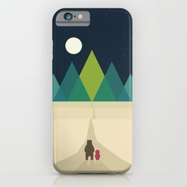 Long Journey iPhone Case