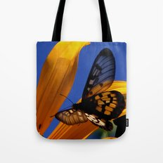 Transparent Butterfly Tote Bag