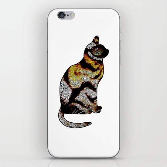 CAT TIGER iPhone & iPod Skin
