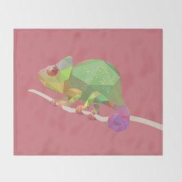 Chameleon. Throw Blanket