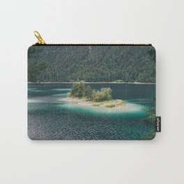 Eibsee Blue Mountain Lake Island Carry-All Pouch