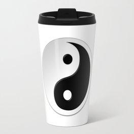 Yin Yang Symbol Travel Mug