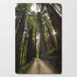 Redwoods Make Me Smile - Nature Photography Cutting Board