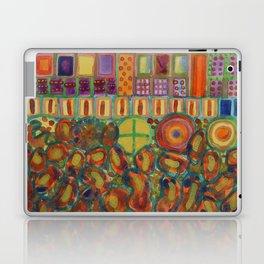 Decorated and illuminated House  Laptop & iPad Skin