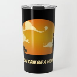 My Hero Sunset Travel Mug