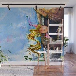 Princess Rapunzel Wall Mural