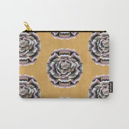 Sweet Pink Rose Carry-All Pouch