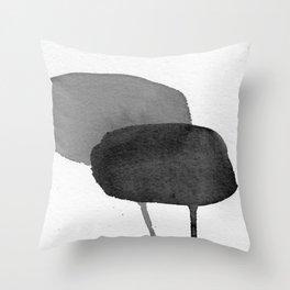 Two Stones Throw Pillow