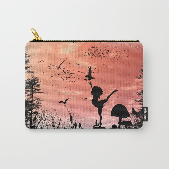 Dancing with the birds Carry-All Pouch
