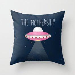 The Mothership Throw Pillow