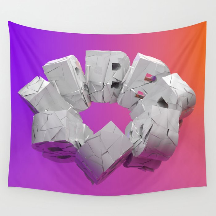Type Wall Tapestry