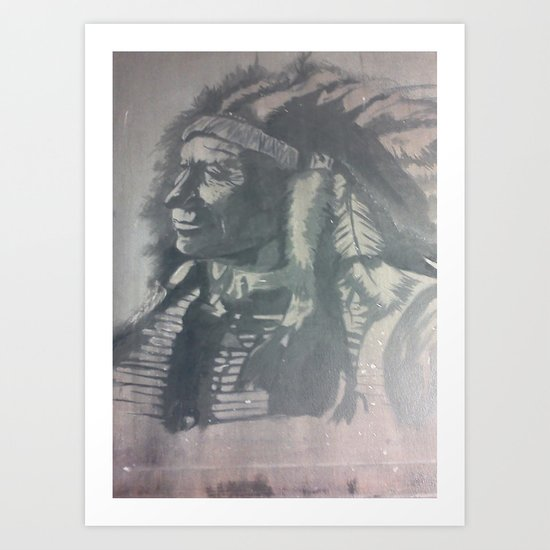 Indian Spirit Art Print
